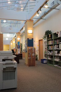 Fraser Works Co-op's Resource Room